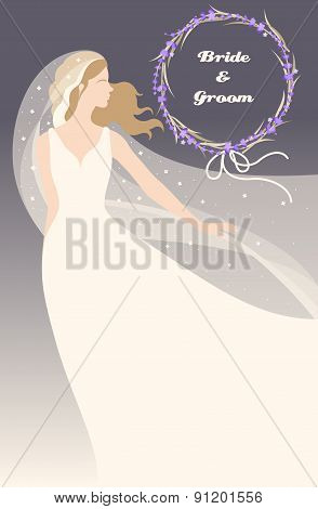 Bride With Lavender