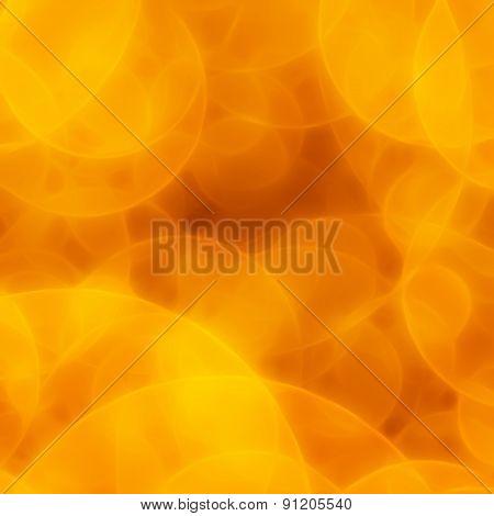 Blurred Orange Circles Background