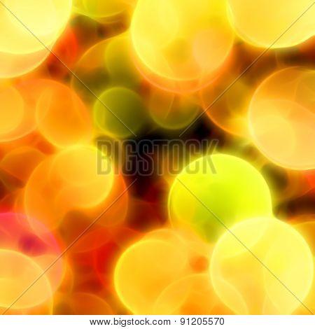 Blurred Circles Background