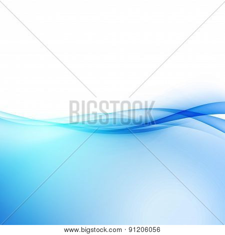 Abstract Transparent Hi-tech Border Swoosh Line