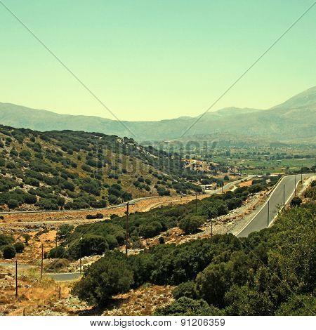 Winding Road, Crete