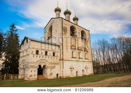 Russia, Settlement Borisoglebsky. Boris And Gleb On The Mouth Of The Rostov Monastery
