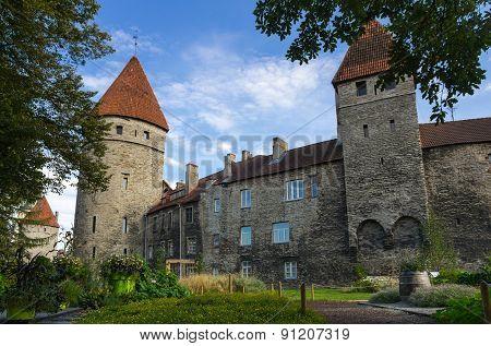 Towers Of Old Tallinn