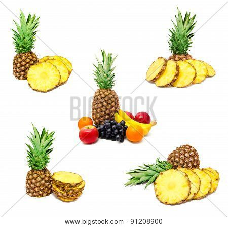 Collection Of Photos Assortment Of Exotic Fruits