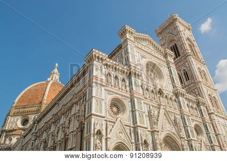Cathedral Of Brunelleschi In Florence
