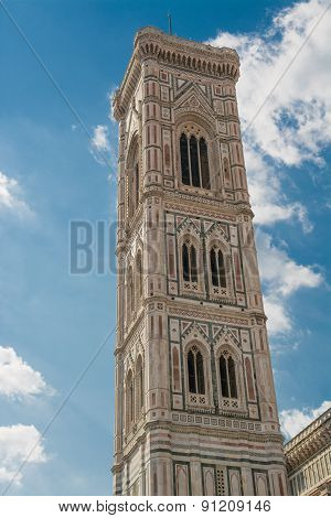 Bell Tower Of The Cathedral Of Brunelleschi
