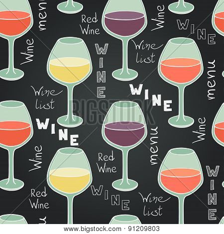 Wine Glasses Pattern