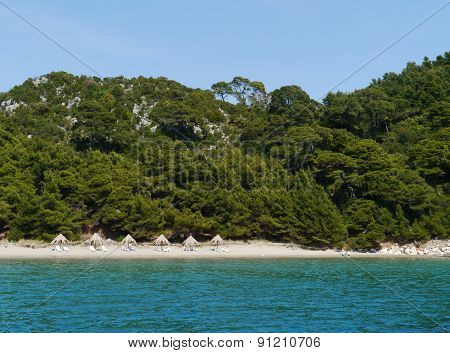 The Saplunara bay of the Croatian island Mljet