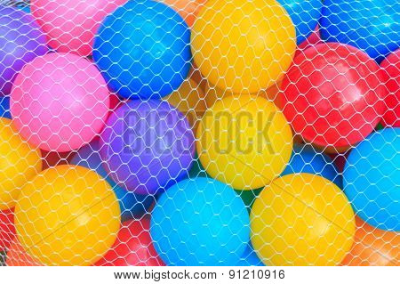 Color Balls For Play Fun