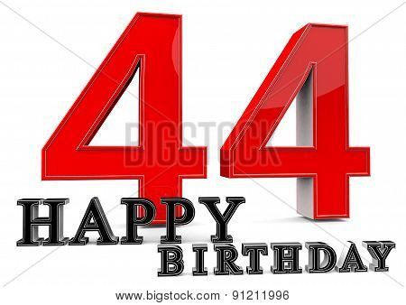 Happy 44Th Birthday