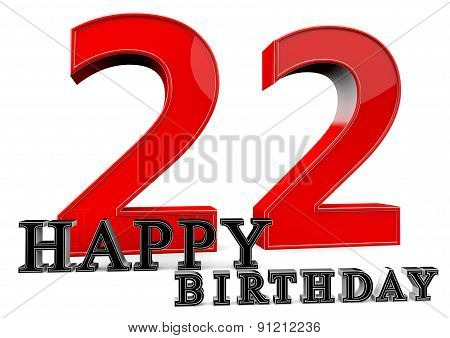 Happy 22Th Birthday
