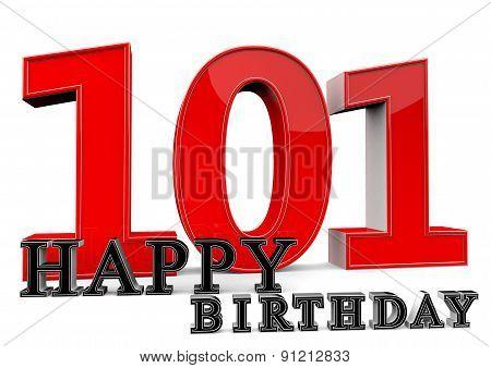 Happy 101Th Birthday