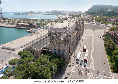 Seaport Barcelona Spain