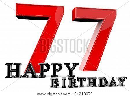 Happy 77Th Birthday