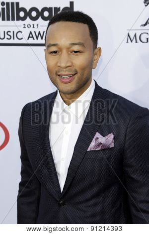 LAS VEGAS - MAY 17:  John Legend at the Billboard Music Awards 2015 at the MGM Garden Arena on May 17, 2015 in Las Vegas, NV