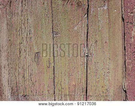 old weathered wood panel background