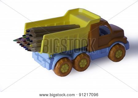 The Lorry With Pencils