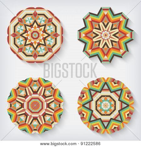 circles kaleidoscopes