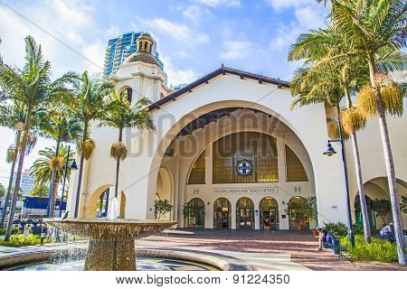 Historic Union Station In San Diego