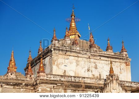 Ancient Pagoda In Bagan, Myanmar