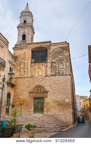Church of St. Domenico. Andria. Puglia. Southern Italy.