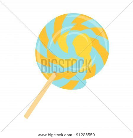 Lollipop flat icon 03