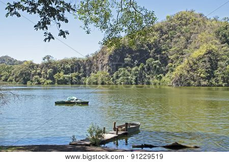Wilderness Lake In Colima