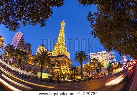 Paris Las Vegas Hotel And Casino In Las Vegas