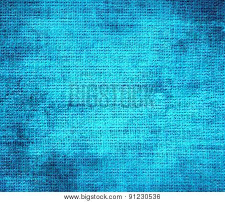 Grunge background of capri burlap texture