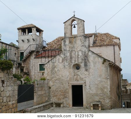 A small church in Korcula old town