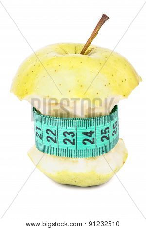 Apple Core And Meter