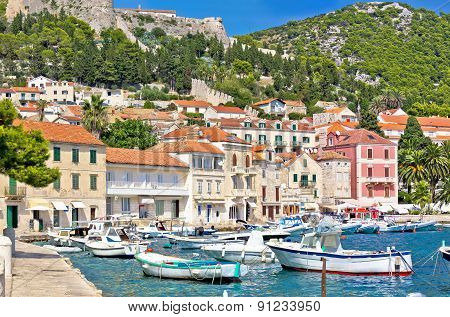 Island Of Hvar Waterfront Architecture