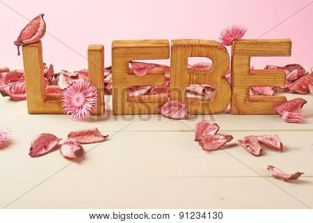 Love composition of letters