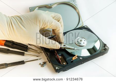 Check Hard Disk Drive By Hand