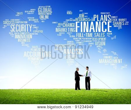 Global Finance Business Financial Marketing Money Concept