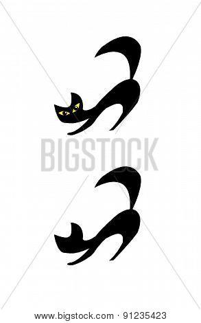 Sketch Black Cats