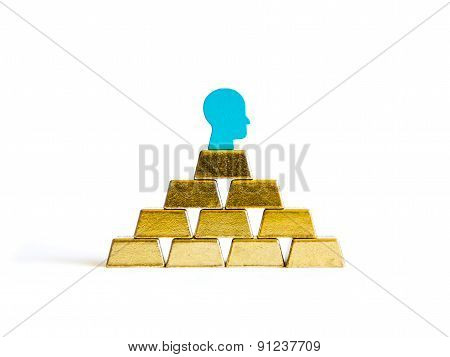 Golden Bricks: Wealth Conceptualisation Isolated