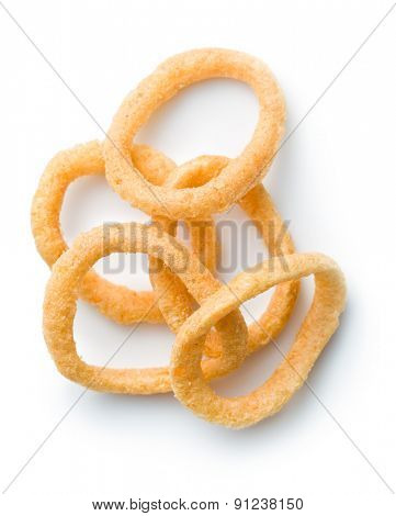 the snack flavored with onion rings