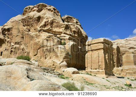 Petra, Djinn Blocks, Jordan