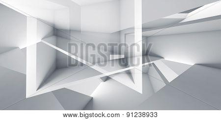 Abstract Background, Digital 3D Render Illustration