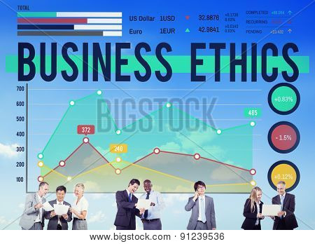 Business Ethnics Ethnical Integrity Honesty Concept