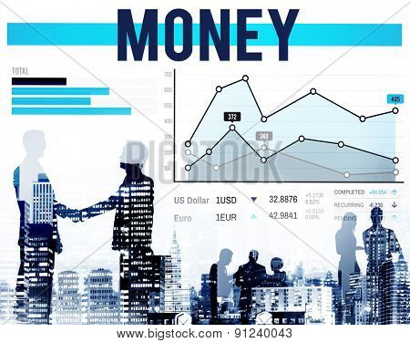 Money Finance Currency Economic Accounting Concept