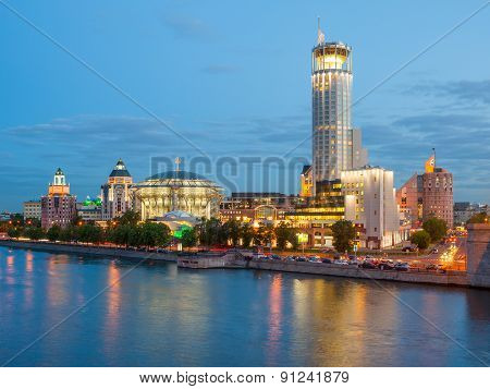 Business Complex Riverside Towers, Moscow International House Of Music And Krasnye Holmy Hotel