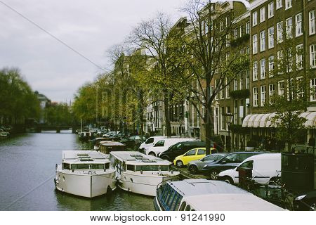 Channel in Amsterdam