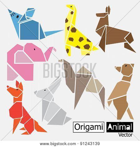 Origami Animal Design