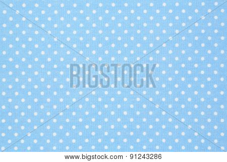 detail of turquoise dotted place mat backgrounds