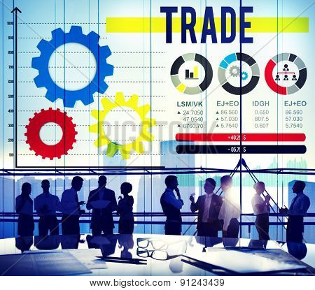 Trade Merchandise Import Export Commerce Concept
