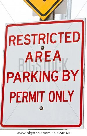 Restricted Area Parking
