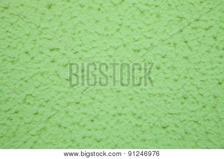 Outer green wall painting for use wallpaper