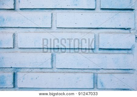 Detail of a white brick wall for wallpaper